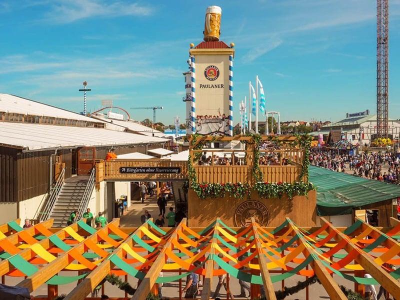 Localização e data da Oktoberfest na Alemanha