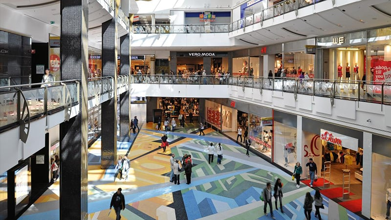 Alexa Shopping Center em Berlim