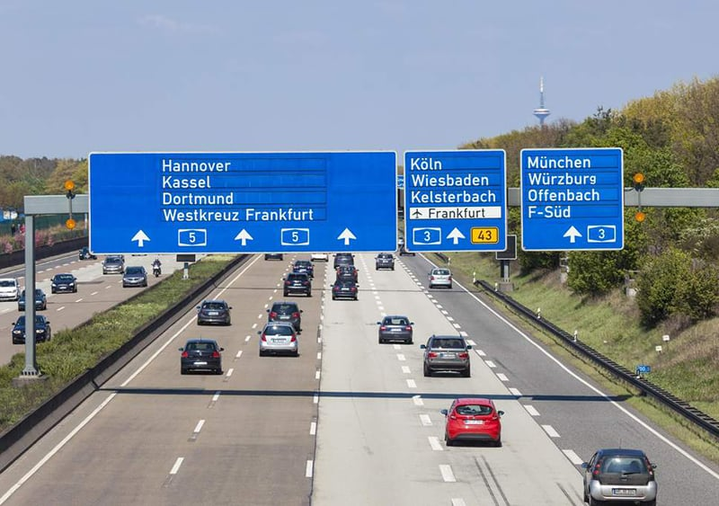 Autobahn na Alemanha