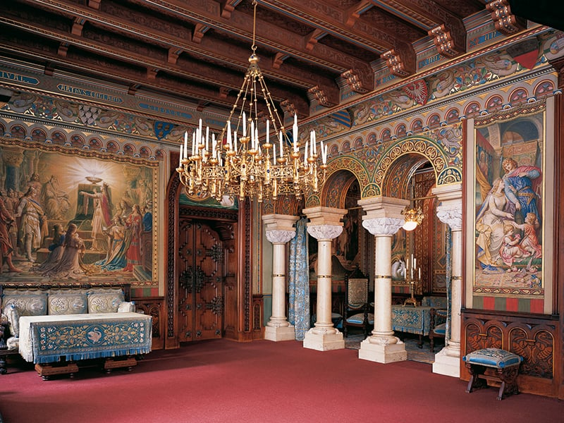 Visita ao Castelo Neuschwanstein na Baviera