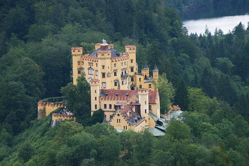 Ingressos e horários do Castelo de Hohenschwangau