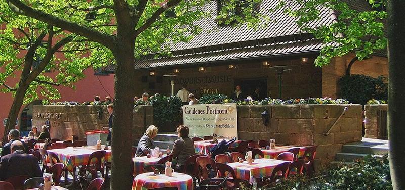 Gastronomia na cidade de Nuremberg na Baviera