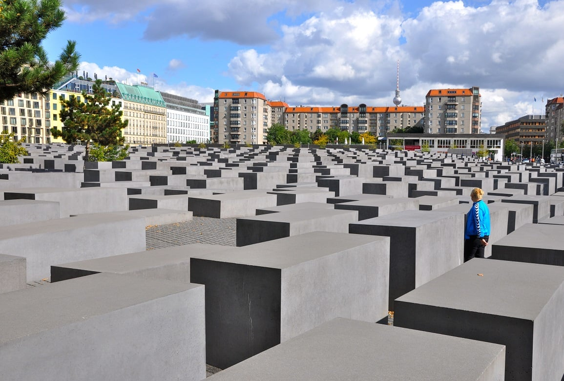 Visita ao Memorial do Holocausto em Berlim