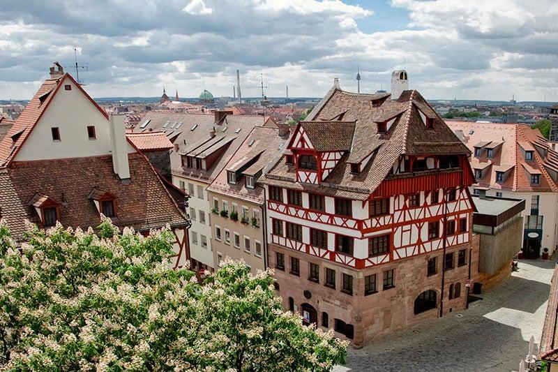 Museu Albrecht Dürer na cidade de Nuremberg na Baviera