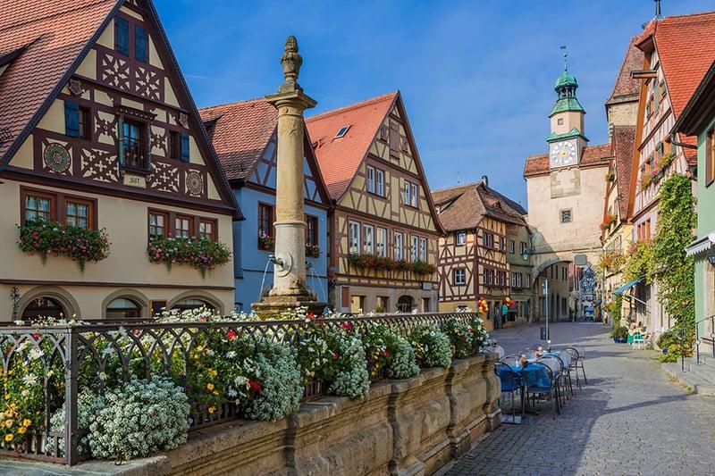 Rothenburg ob der Tauber na Alemanha