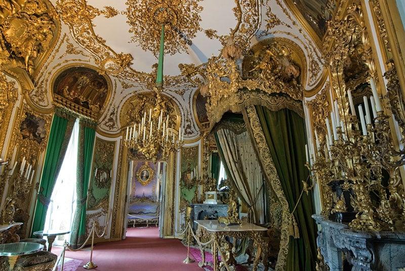 Sala de Audiência no Palácio de Linderhof em Munique
