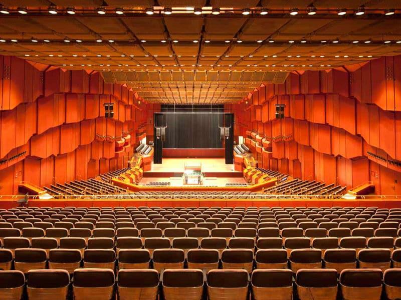 Velha Ópera em Frankfurt