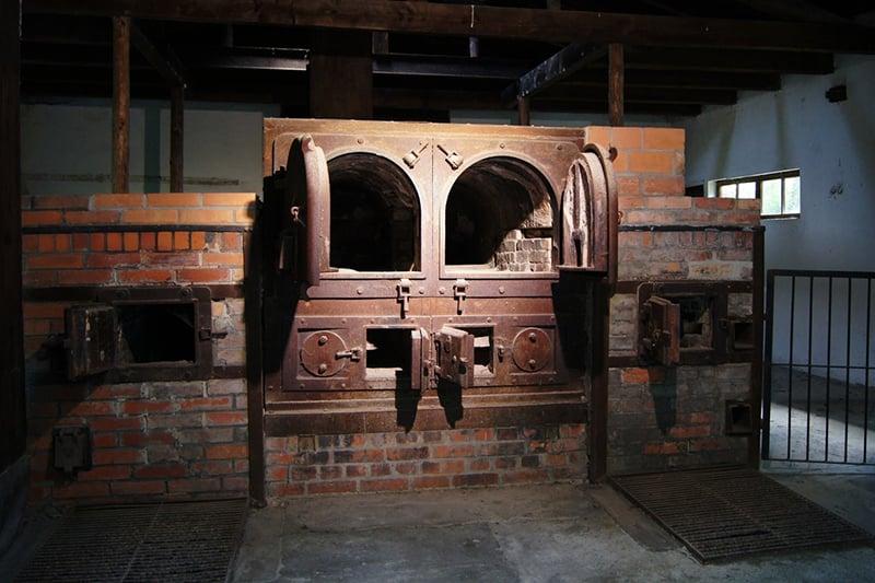 Estrutura de cremação do campo de concentração de Dachau