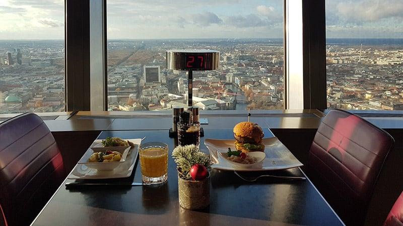 Restaurante da Torre de TV em Berlim