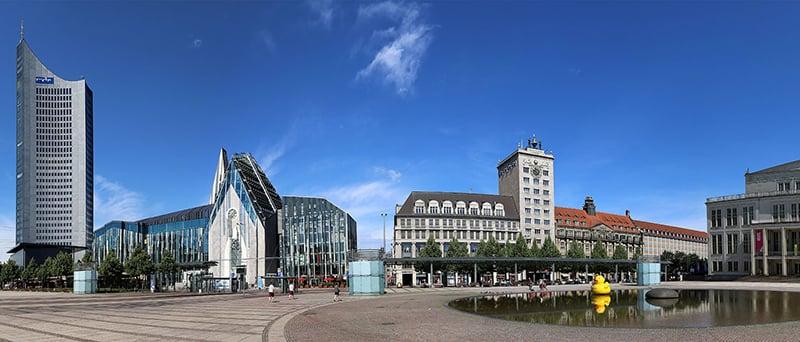 Universidade de Leipzig na Alemanha