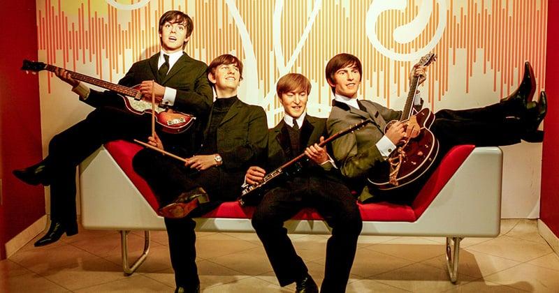 Beatles no Madame Tussauds em Berlim