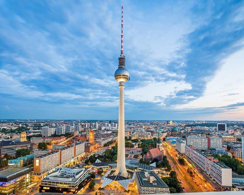 Ponto de retirada do Berlin Pass - Torre de TV em Berlim