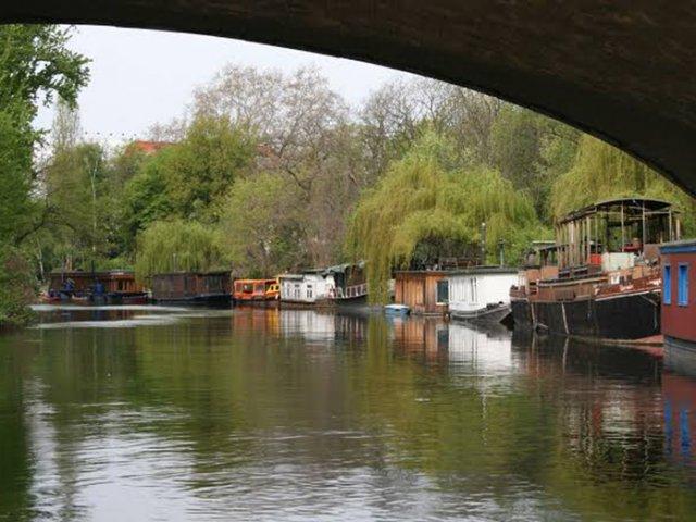 Cruzeiro pelo rio Spree e o Landwehrkanal