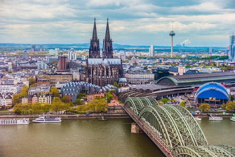 Vista da cidade de Colônia