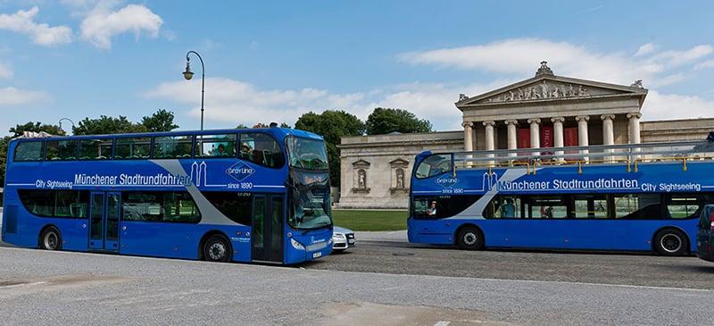 Ônibus turístico de Munique