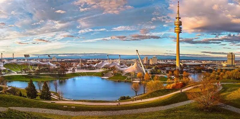 Torre Olympiaturm em Munique
