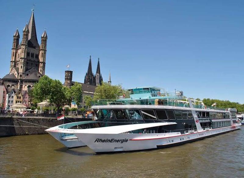 Vista dos pontos turísticos de Colônia
