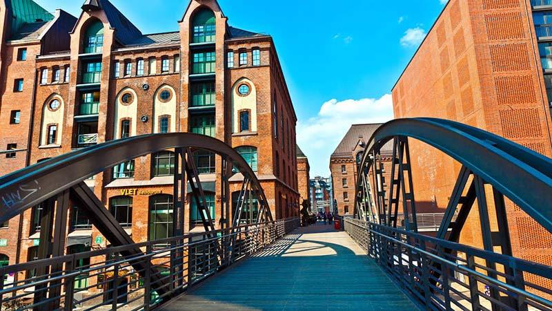 Pontes de Hamburgo na Alemanha