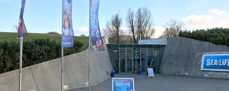 Entrada no Sea Life Munich