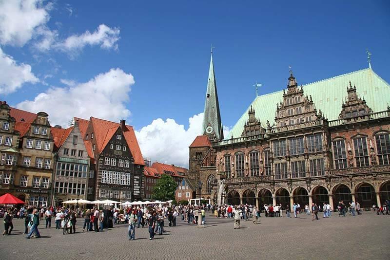 Cidade de Bremen um dos 38 Patrimônios Históricos da UNESCO na Alemanha