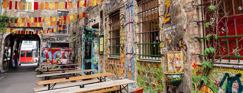 Arte urbana no tour alternativo em Berlim