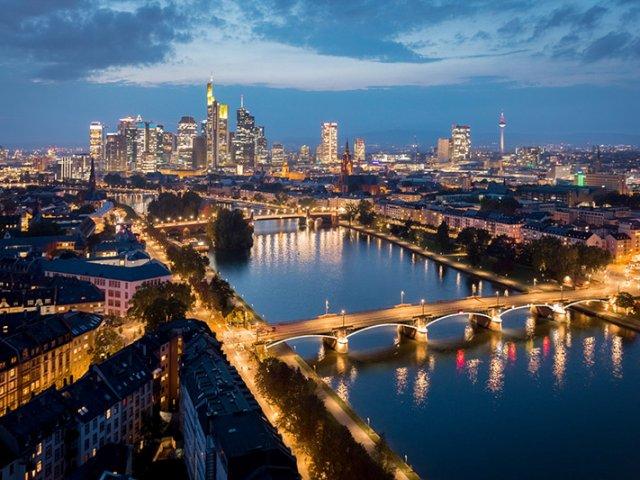 Passeios românticos em Frankfurt