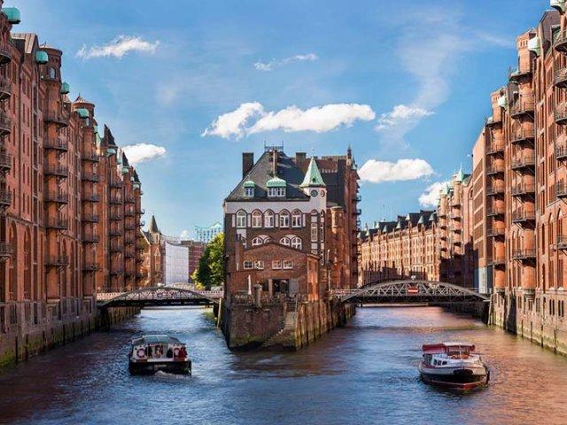 Passeios românticos em Hamburgo