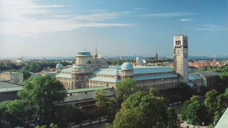 Área do Deutsches Museum em Munique