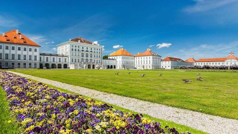 Área do Nymphenburg Palace Park em Munique