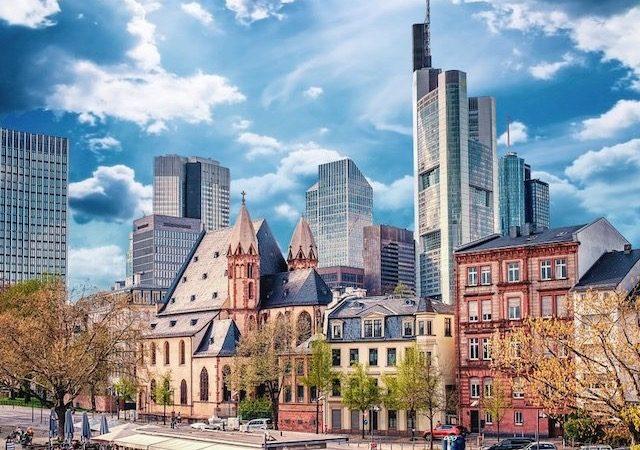 Edifícios em Frankfurt