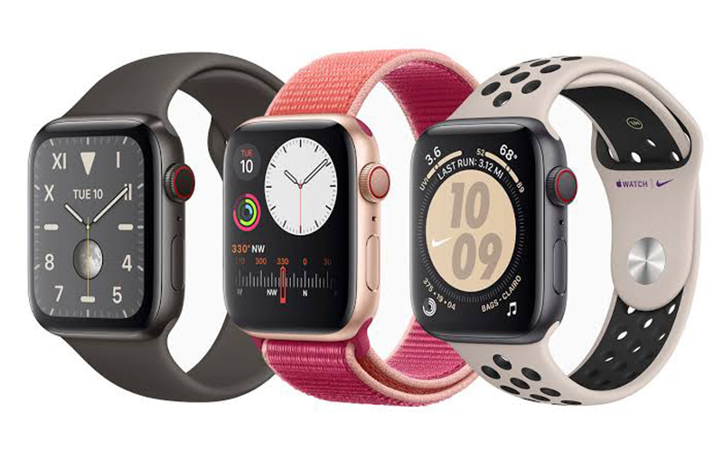 Comparativo dos modelos Apple Watch