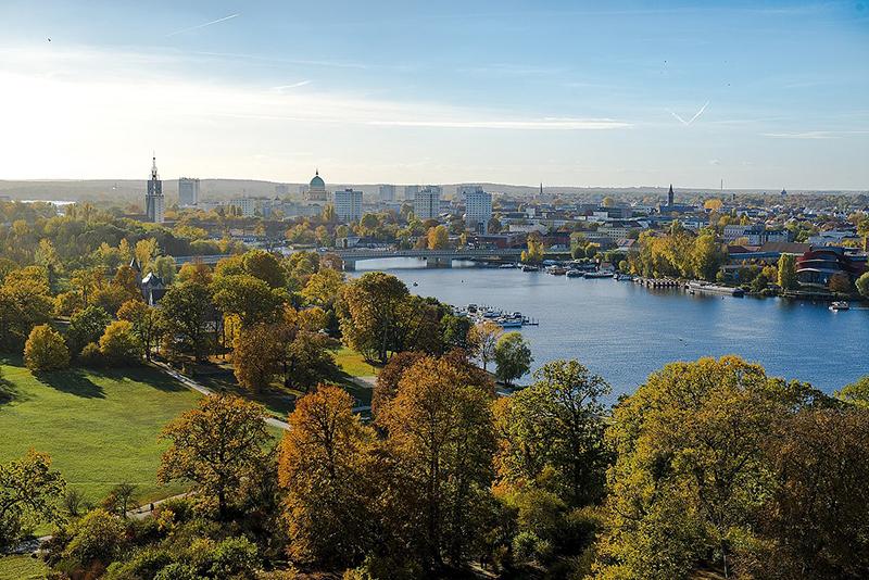 Cidade de Potsdam Alemanha