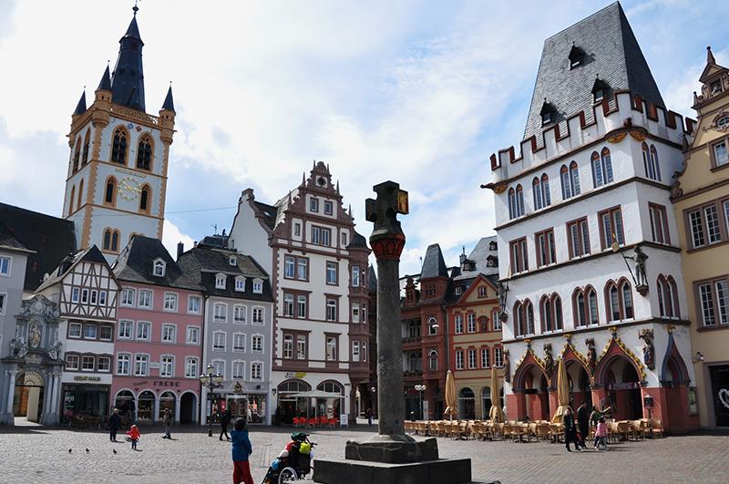 Cidade de Tréveris na Alemanha
