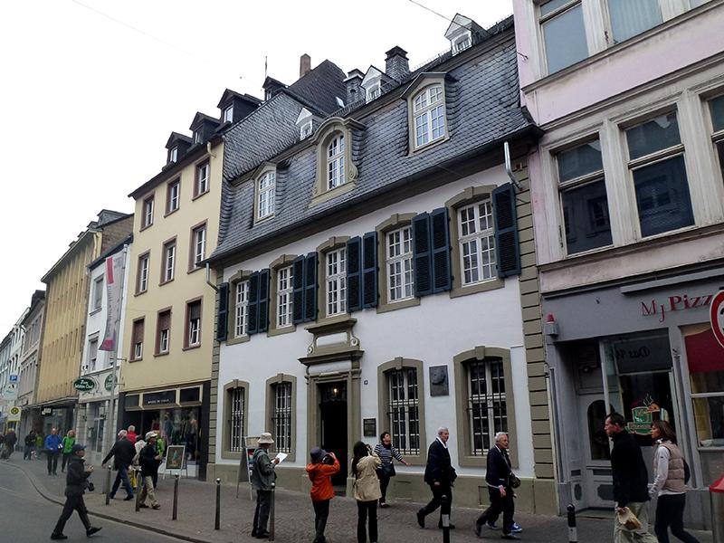 Karl-Marx-Haus em Tréveris