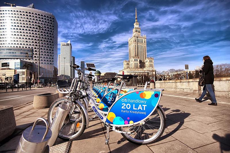 Bicicletas em Colônia