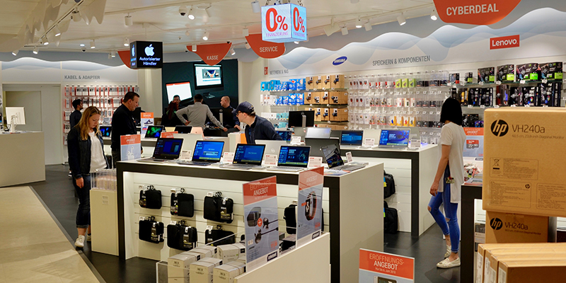 Onde comprar eletrônicos em Munique