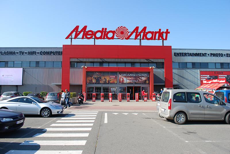 Loja Media Markt em Munique