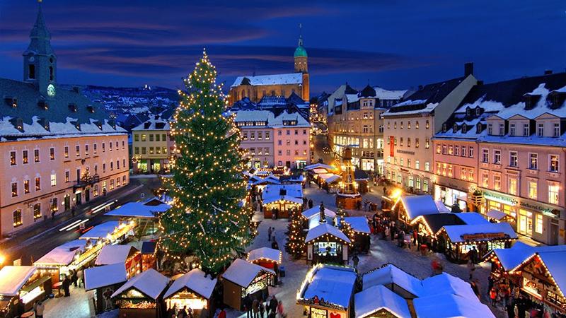 Natal em Colônia na Alemanha