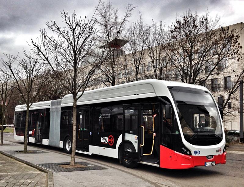 Ônibus em Colônia