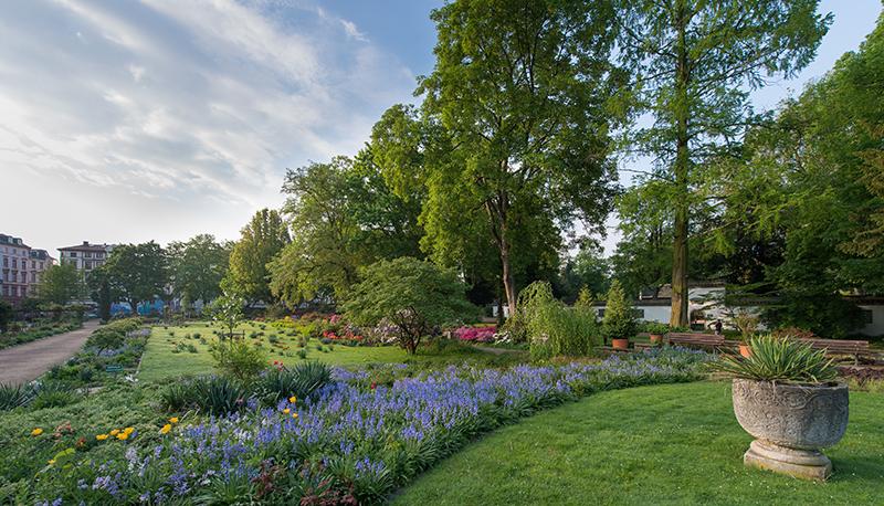 Parque Bethmannpark em Frankfurt