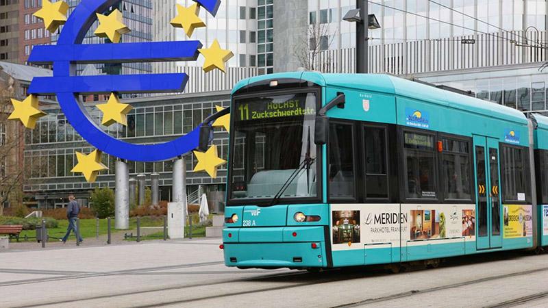 Tram em Frankfurt