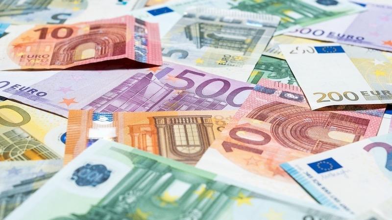 Dinheiro em Frankfurt