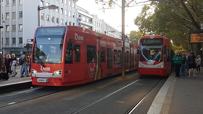 Tram em Colônia