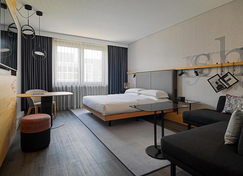 Suíte do Frankfurt Airport Marriott Hotel