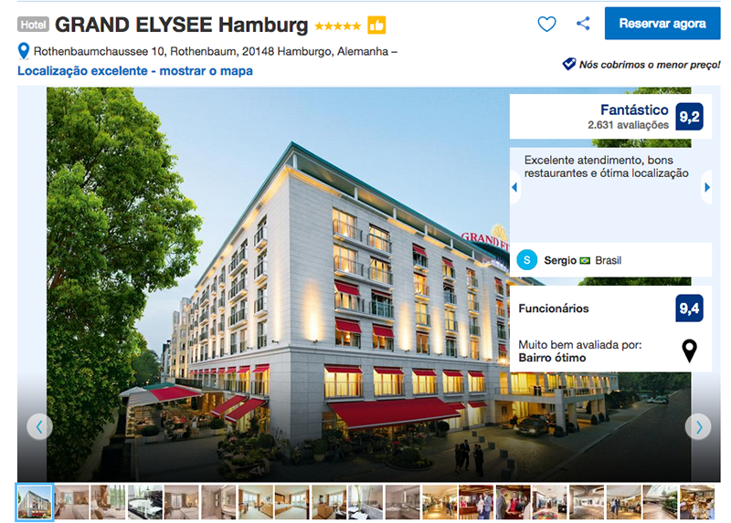 Hotel GRAND ELYSEE Hamburg
