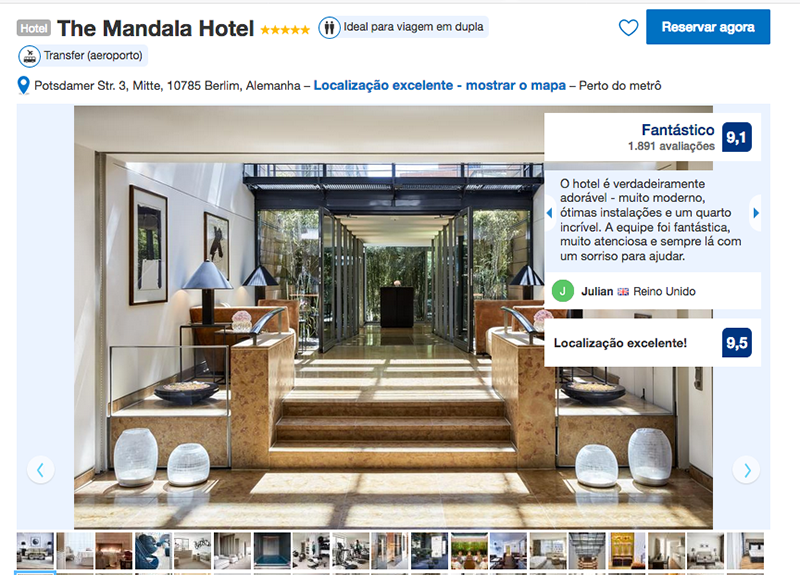 The Mandala Hotel em Berlim