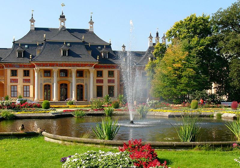 Museu Pillnitz Castle em Dresden