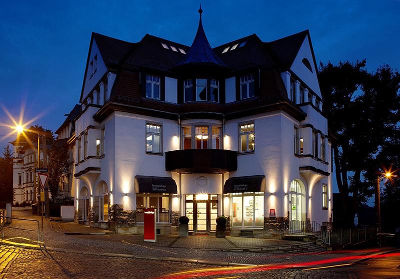Fachada do Restaurante Bean&Beluga em Dresden