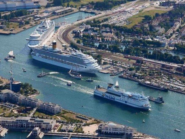 Principais destinos de ferry saindo da Alemanha