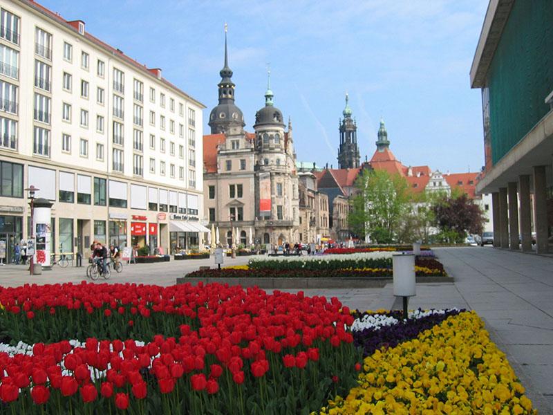 Primavera em Dresden